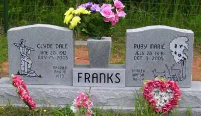 HARRINGTON FRANKS, RUBY MARIE (OBIT) - Baxter County, Arkansas | RUBY MARIE (OBIT) HARRINGTON FRANKS - Arkansas Gravestone Photos