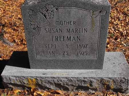 MARTIN FREEMAN, SUSAN - Baxter County, Arkansas | SUSAN MARTIN FREEMAN - Arkansas Gravestone Photos