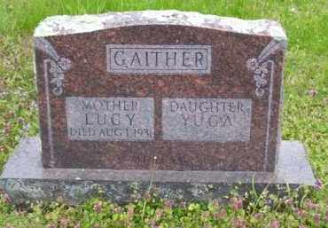 GAITHER, LUCY - Baxter County, Arkansas | LUCY GAITHER - Arkansas Gravestone Photos