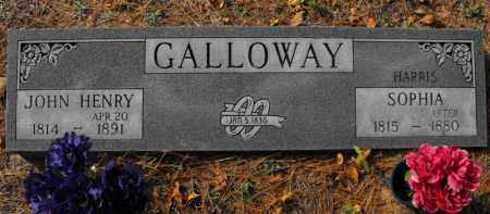 GALLOWAY, JOHN HENRY - Baxter County, Arkansas | JOHN HENRY GALLOWAY - Arkansas Gravestone Photos
