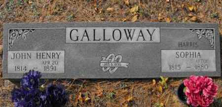 HARRIS GALLOWAY, SOPHIA - Baxter County, Arkansas | SOPHIA HARRIS GALLOWAY - Arkansas Gravestone Photos