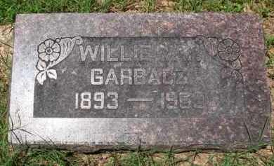 GARBACZ, WILLIE VAN - Baxter County, Arkansas | WILLIE VAN GARBACZ - Arkansas Gravestone Photos