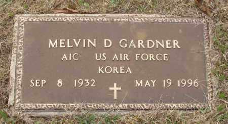 GARDNER (VETERAN KOR), MELVIN D - Baxter County, Arkansas | MELVIN D GARDNER (VETERAN KOR) - Arkansas Gravestone Photos