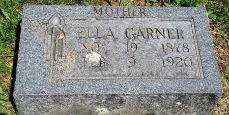 GARNER, ELLA - Baxter County, Arkansas | ELLA GARNER - Arkansas Gravestone Photos