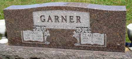 GARNER, FANNIE - Baxter County, Arkansas | FANNIE GARNER - Arkansas Gravestone Photos