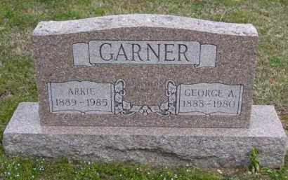GARNER, GEORGE A. - Baxter County, Arkansas | GEORGE A. GARNER - Arkansas Gravestone Photos