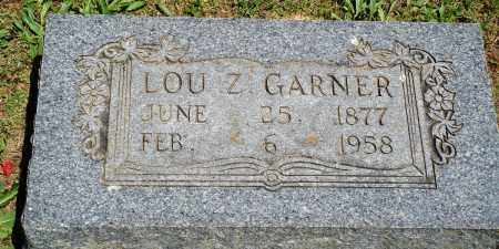 GARNER, LOU Z - Baxter County, Arkansas | LOU Z GARNER - Arkansas Gravestone Photos