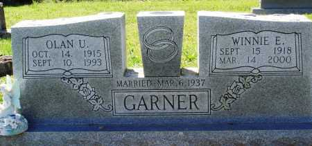GARNER, OLAN U - Baxter County, Arkansas | OLAN U GARNER - Arkansas Gravestone Photos
