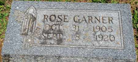 GARNER, ROSE - Baxter County, Arkansas | ROSE GARNER - Arkansas Gravestone Photos