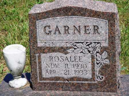 GARNER, ROSALEE - Baxter County, Arkansas | ROSALEE GARNER - Arkansas Gravestone Photos