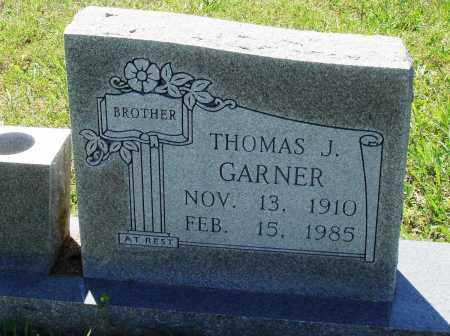 GARNER, THOMAS J - Baxter County, Arkansas | THOMAS J GARNER - Arkansas Gravestone Photos