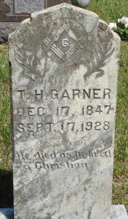 GARNER, T H - Baxter County, Arkansas | T H GARNER - Arkansas Gravestone Photos