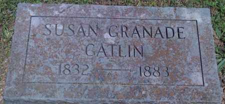 GRANADE GATLIN, SUSAN - Baxter County, Arkansas | SUSAN GRANADE GATLIN - Arkansas Gravestone Photos