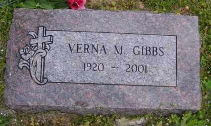 GARNER GIBBS, VERNA M - Baxter County, Arkansas | VERNA M GARNER GIBBS - Arkansas Gravestone Photos
