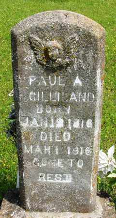 GILLILAND, PAUL A - Baxter County, Arkansas | PAUL A GILLILAND - Arkansas Gravestone Photos