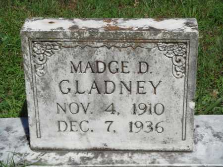 GLADNEY, MADGE D. - Baxter County, Arkansas | MADGE D. GLADNEY - Arkansas Gravestone Photos
