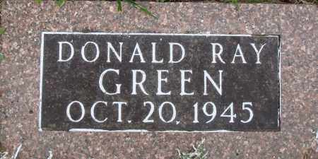 GREEN, DONALD RAY - Baxter County, Arkansas | DONALD RAY GREEN - Arkansas Gravestone Photos