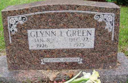 GREEN, GLYNN I - Baxter County, Arkansas | GLYNN I GREEN - Arkansas Gravestone Photos