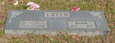 GREEN, MARON - Baxter County, Arkansas | MARON GREEN - Arkansas Gravestone Photos