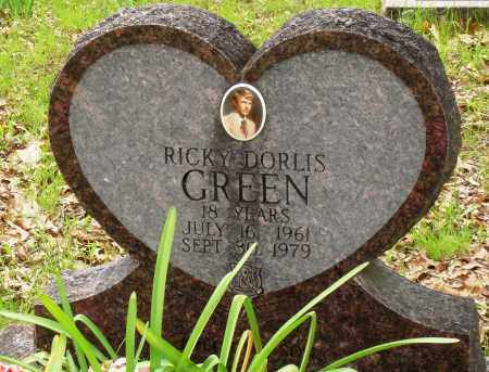 GREEN, RICKY DORLIS - Baxter County, Arkansas | RICKY DORLIS GREEN - Arkansas Gravestone Photos