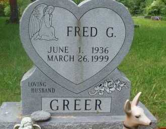 GREER, FRED G. - Baxter County, Arkansas | FRED G. GREER - Arkansas Gravestone Photos