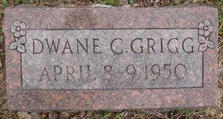 GRIGG, DWANE C - Baxter County, Arkansas | DWANE C GRIGG - Arkansas Gravestone Photos