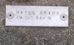 GRIGG, HAZEL ELIZABETH - Baxter County, Arkansas | HAZEL ELIZABETH GRIGG - Arkansas Gravestone Photos