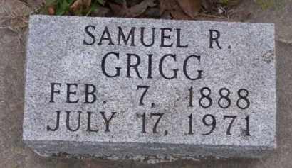 GRIGG, SAMUEL R. - Baxter County, Arkansas | SAMUEL R. GRIGG - Arkansas Gravestone Photos