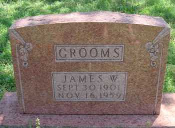 GROOMS, JAMES W. - Baxter County, Arkansas | JAMES W. GROOMS - Arkansas Gravestone Photos