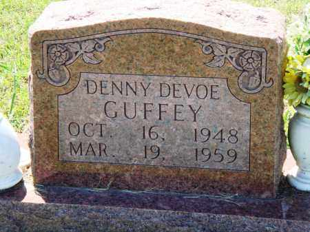 GUFFEY, DENNY DEVOE - Baxter County, Arkansas | DENNY DEVOE GUFFEY - Arkansas Gravestone Photos