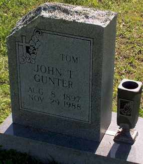 "GUNTER, JOHN T. ""TOM"" - Baxter County, Arkansas 