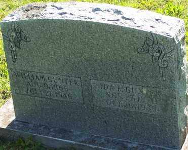 GUNTER, WILLIAM - Baxter County, Arkansas | WILLIAM GUNTER - Arkansas Gravestone Photos