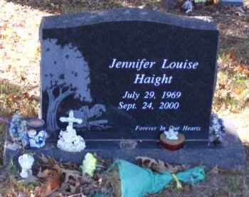 HAIGHT, JENNIFER LOUISE - Baxter County, Arkansas | JENNIFER LOUISE HAIGHT - Arkansas Gravestone Photos