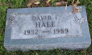 "HALE, DAVID FRANCIS ""MUTT - Baxter County, Arkansas | DAVID FRANCIS ""MUTT HALE - Arkansas Gravestone Photos"