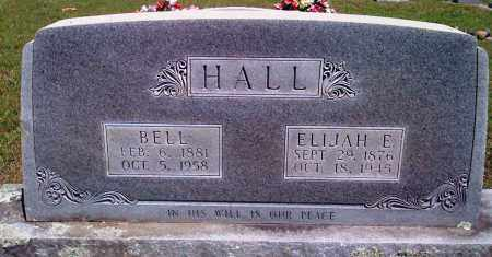 HALL, BELL - Baxter County, Arkansas | BELL HALL - Arkansas Gravestone Photos