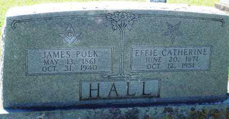 HALL, JAMES POLK - Baxter County, Arkansas | JAMES POLK HALL - Arkansas Gravestone Photos