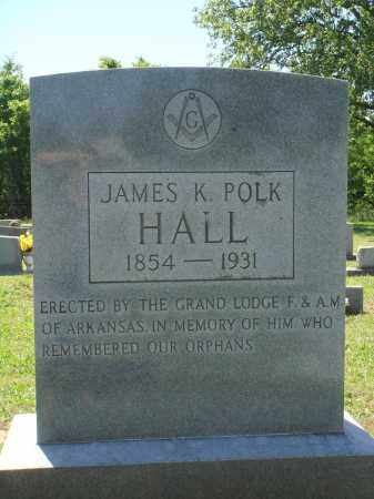 HALL, JAMES K POLK - Baxter County, Arkansas | JAMES K POLK HALL - Arkansas Gravestone Photos