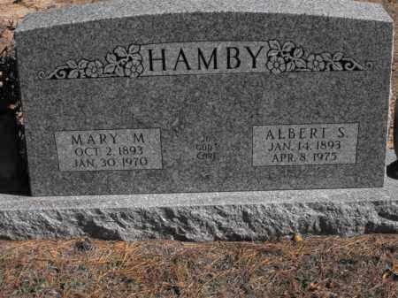 HAMBY, ALBERT S. - Baxter County, Arkansas | ALBERT S. HAMBY - Arkansas Gravestone Photos
