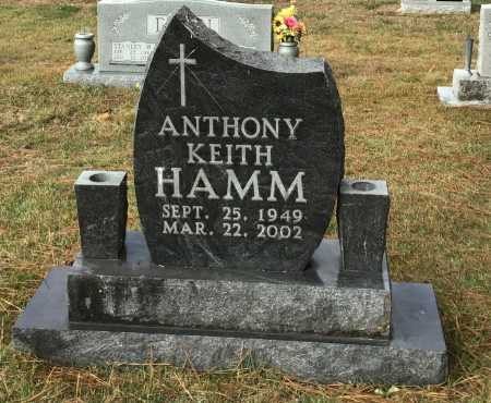 HAMM, ANTHONY KEITH - Baxter County, Arkansas | ANTHONY KEITH HAMM - Arkansas Gravestone Photos