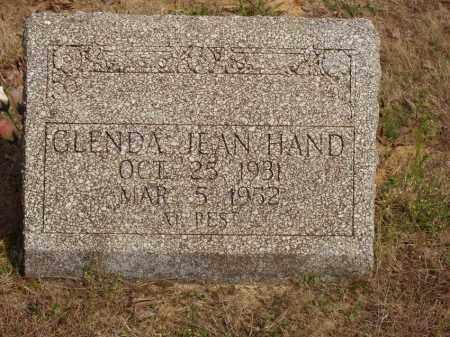 HAND, GLENDA JEAN - Baxter County, Arkansas | GLENDA JEAN HAND - Arkansas Gravestone Photos