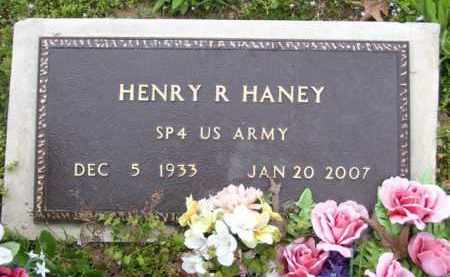 HANEY (VETERAN), HENRY R - Baxter County, Arkansas | HENRY R HANEY (VETERAN) - Arkansas Gravestone Photos