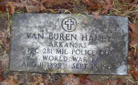 HANEY (VETERAN WWI), VAN BUREN - Baxter County, Arkansas | VAN BUREN HANEY (VETERAN WWI) - Arkansas Gravestone Photos