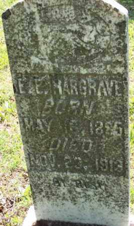 HARGRAVE, EDWARD E. - Baxter County, Arkansas | EDWARD E. HARGRAVE - Arkansas Gravestone Photos
