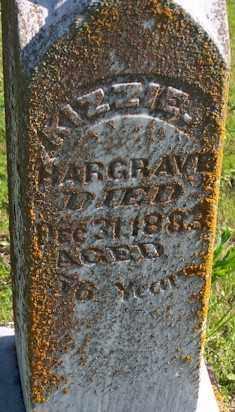 HARGRAVE, KIZZIE - Baxter County, Arkansas | KIZZIE HARGRAVE - Arkansas Gravestone Photos
