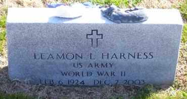 HARNESS (VETERAN WWII), LEAMON LOY (OBIT) - Baxter County, Arkansas | LEAMON LOY (OBIT) HARNESS (VETERAN WWII) - Arkansas Gravestone Photos