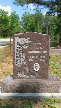 HARRINGTON, ULYS LOREN - Baxter County, Arkansas | ULYS LOREN HARRINGTON - Arkansas Gravestone Photos