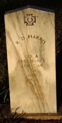 HARRIS  (VERTERAN CSA), R. D. (OBIT) - Baxter County, Arkansas | R. D. (OBIT) HARRIS  (VERTERAN CSA) - Arkansas Gravestone Photos