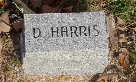 HARRIS, D - Baxter County, Arkansas | D HARRIS - Arkansas Gravestone Photos