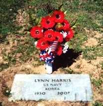 HARRIS (VETERAN KOR), LYNN - Baxter County, Arkansas | LYNN HARRIS (VETERAN KOR) - Arkansas Gravestone Photos