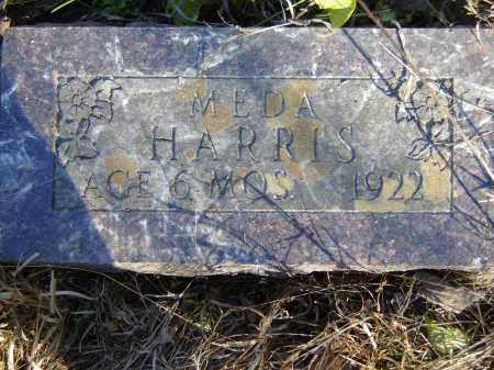 HARRIS, MEDA - Baxter County, Arkansas | MEDA HARRIS - Arkansas Gravestone Photos